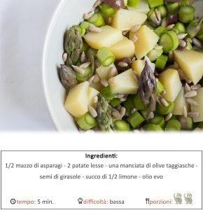 insalata di asparagicrudi