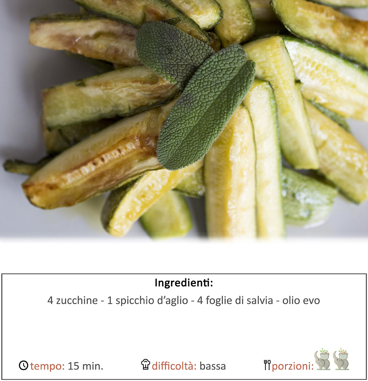 zucchine alla salvia