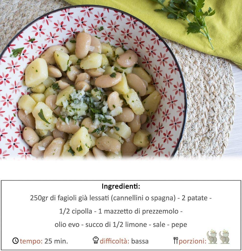 Insalata di fagioli e patate