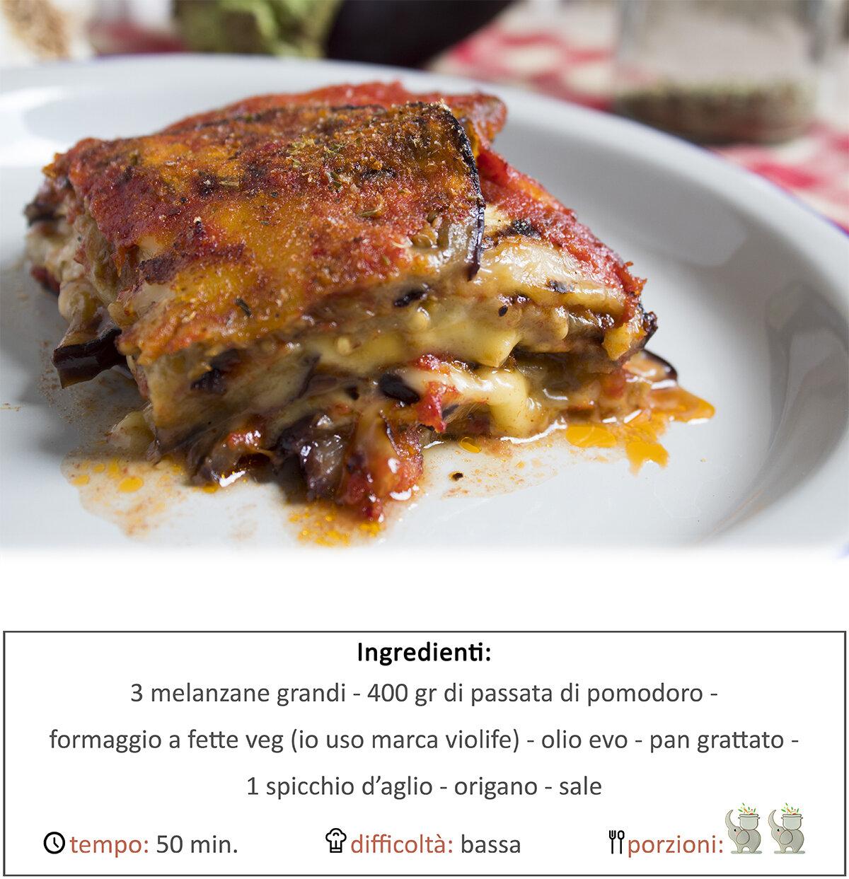 Parmigiana di melazane veg